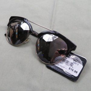 FOSTER GRANT Max Block Mirrored Sunglasses  - NWT